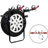Kit Transbike Para Estepe Porta Malas 2 Vagas Altmayer Al-246 Sinalizador De Encaixe Em