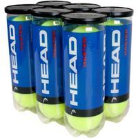 Bola De Tennis Head Master Pack Com 6 Tubos - 18 Bolas - Unissex