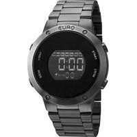 Relógio Euro Feminino Eubj3279Ab - Feminino-Prata