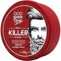 Pomada Capilar Qod Barber Shop Killer Fixação Alta 70G