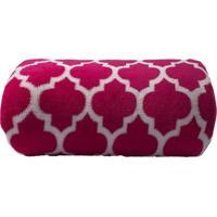 Cobertor Camesa Microfibra Estampado 180G Solteiro 150X220 Colmeia