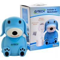 Inalador E Nebulizador G-Tech Nebdog Azul 1 Unidade