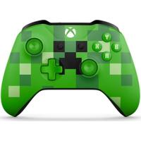 Controle Microsoft Minecraft Creeper Sem Fio - Xbox One S - Unissex