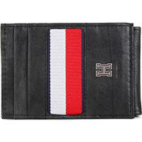 Carteira Couro Tommy Hilfiger Wide Magnetic Front Pocket Masculina - Masculino