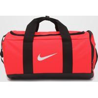 Bolsa Nike Team Duffle Rosa