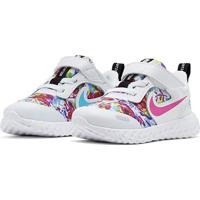 Tênis Infantil Nike Revolution 5 Fable - Feminino-Branco+Pink