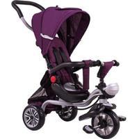 Triciclo 2 Em 1 Premium Vira Carrinho Bel Brink - Unissex-Roxo