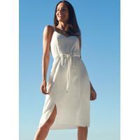 Vestido Tecido Rayon Twill Branco