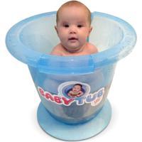 Banheira Babytub - Baby Tub - Unissex-Azul