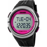 Relógio Skmei Digital Pedômetro 1058 - Feminino