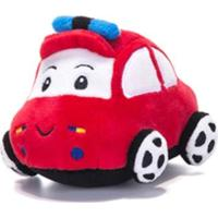 Chocalho De Pelucia Unik Toys Carro Vermelho