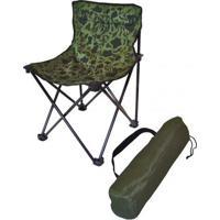 Cadeira Dobrável Camping Pesca Premium Camuflada Bel Lazer - Unissex