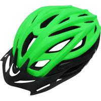 Capacete Cly Out Mold Mtb/Urbano Para Ciclismo M Verde