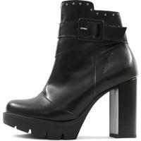 Bota Damannu Shoes Jolie Preto