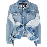 Diesel Jaqueta Jeans De-Abby - Azul