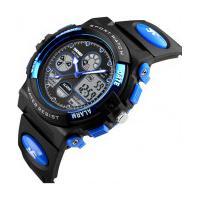 Relógio Skmei Infantil -1163- Preto E Azul