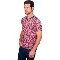 Camiseta Floral Rosa