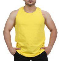 Camiseta Regata Academia Masculino Amarelo