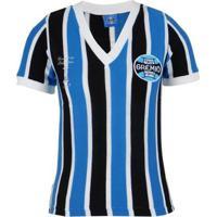 Camisa Grêmio Oldoni Retrô Libertadores 1983 Feminina - Feminino