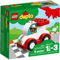 Lego Duplo - O Meu Primeiro Carro De Corrida - 10860 - Unissex-Incolor