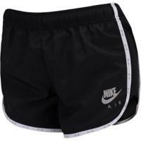 Shorts Nike Air - Feminino - Preto/Branco