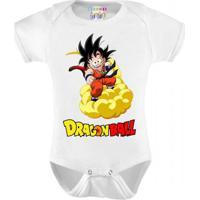 Body Infantil Personalizado Goku Dragon Ball