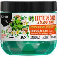 Máscara Concentrada Salon Line - Maria Natureza Leite Coco Hidratação - 300Gr - Unissex-Incolor