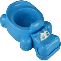 Troninho Bebe Pinico Infantil Privada Plike Baby Menino Azul