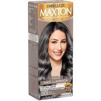 Tintura Creme Maxton .001 Cinza Charcoal Com 1 Unidade 1 Unidade