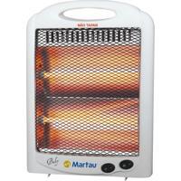Aquecedor Martau Quartz Baby Branco Com Dispositivo De Segurança - 220V