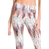 Legging Live Trademark Estampada M