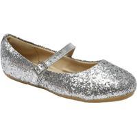 Sapato Boneca Com Brilho - Prateada- Luluzinhaluluzinha