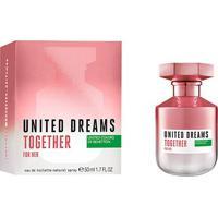 Perfume Benetton United Dreams Together For Her Feminino Edt 50Ml - Feminino