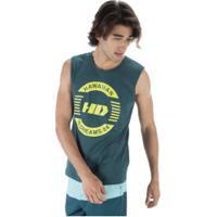 Camiseta Regata Hd Logo - Masculina - Petroleo