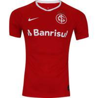 Camisa Do Internacional I 2019 Nike - Torcedor - Masculina - Vermelho/Branco
