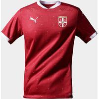 Camisa Seleção Sérvia Home 20/21 S/N° Torcedor Puma Masculina - Masculino