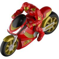 Moto De Fricção - Disney - Marvel - Avengers - Homem De Ferro - Toyng - Unissex-Incolor