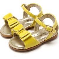 Sandália Klin Sugar Amarelo