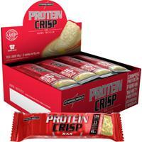 Protein Crisp Bar 12 Barras Cheesecake Frutas Vermelhas - Integralmedica - Unissex