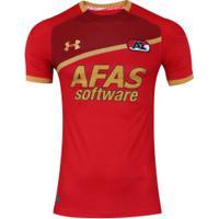 Camisa Az Alkmaar I 17/18 Under Armour - Masculina - Vermelho
