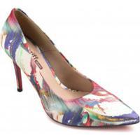 Sapato Zariff Scarpin Mesclado