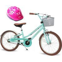 Bicicleta Juvenil Nathor Antonella Verde