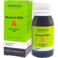 Forte Âmbar Profissional Tratamento Anti-Queda Monovit Incolor