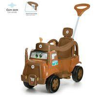 Carrinho De Passeio E Pedal - Mk Truck Marrom - Calesita Cal0987