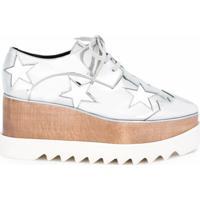 Stella Mccartney Sapato Modelo 'Elyse' - Metálico