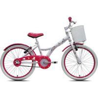 Bicicleta Infantil Tito Unilover Aro 20 C/ Cestinha - Unissex