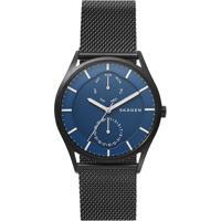 Relógio Analógico Skagen Masculino - Skw6450/1Pn Preto