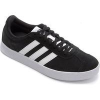 Tênis Adidas Vl Court 2.0 Masculino - Masculino-Preto+Branco