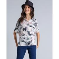 Camisa Oversized Estampa Hollywood - Lez A Lez