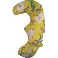 Almofada De Cinto De Segurança Bebês Feliz Ovelha Avideco Amarelo